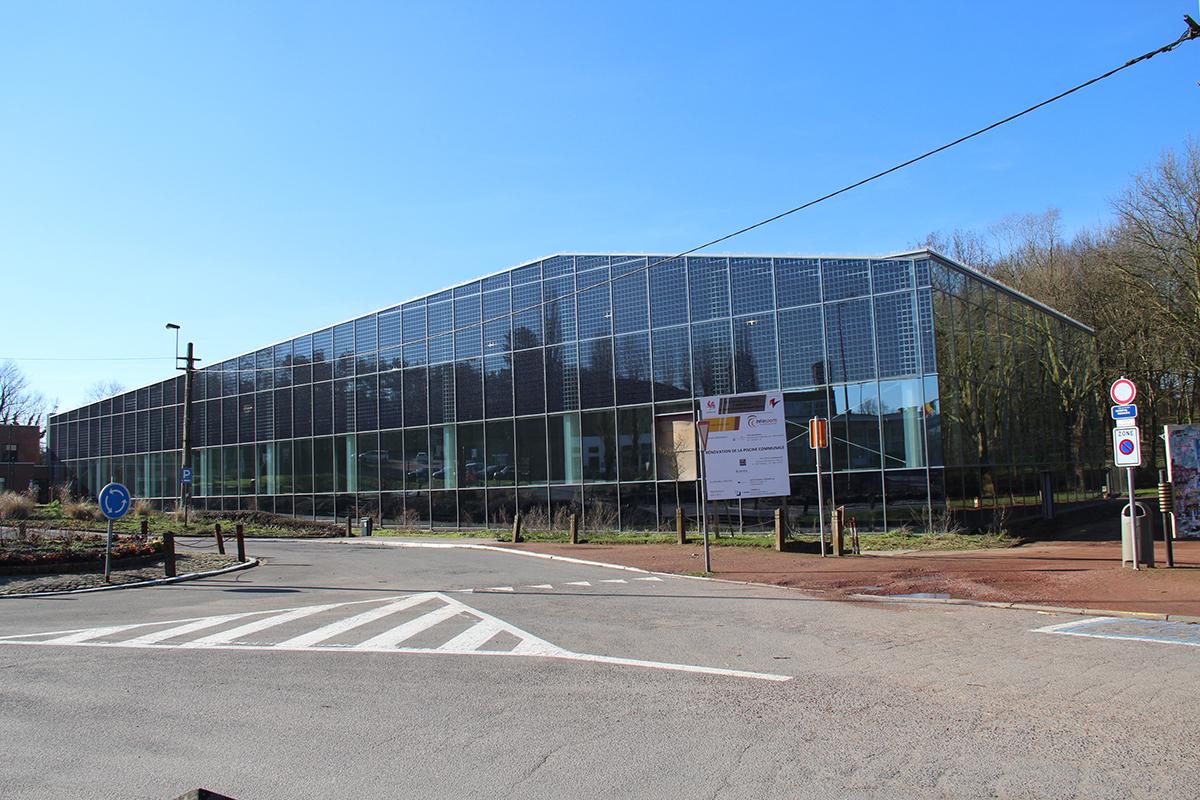 Journ e chantiers ouverts piscine ville de nivelles for Travaux piscine