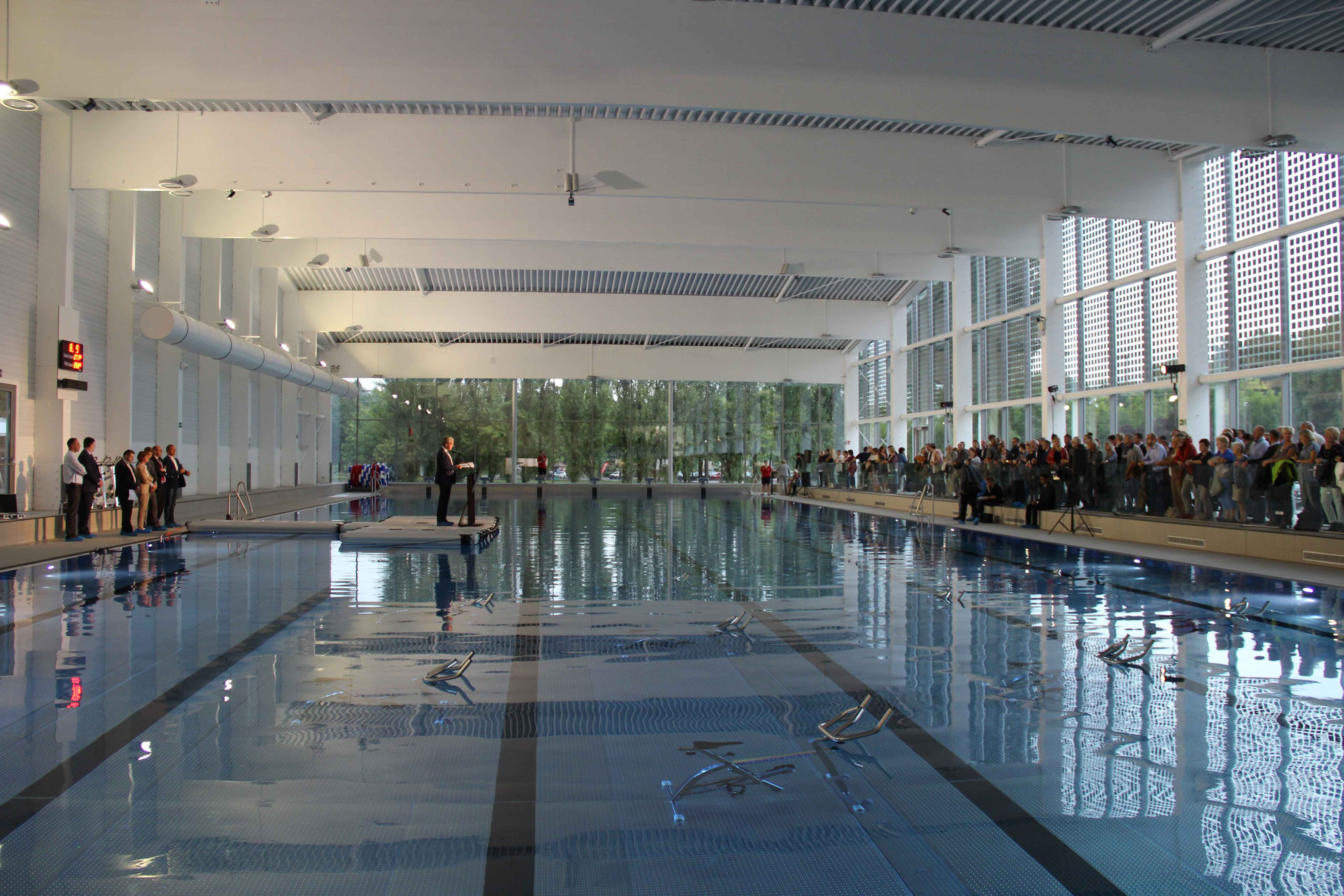 Projets r alis s nivelles la dodaine une piscine for Piscine de delle
